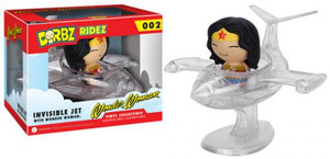 Pop! Figurines - Wonder Woman Dorbz with Invisible Jet