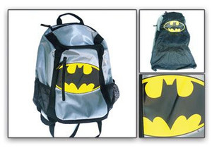 Batman Logo with Cape Backpack