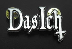 "Das Ich - 2"" Logo Metal Badge"