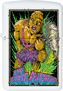 Toxic Avenger White Lighter