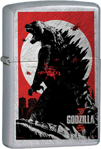 Godzilla Chrome Lighter