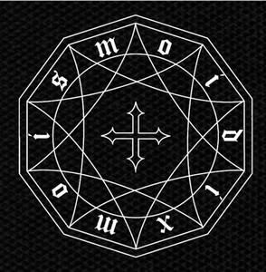 """Moi Dix Mois Logo 4x4"""" Printed Patch"""