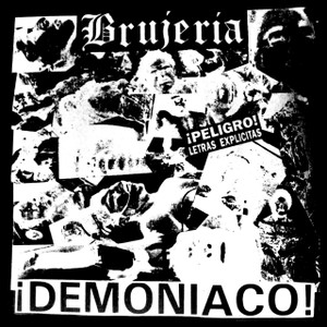 "Brujeria - Demoniaco 5x5"" Printed Sticker"