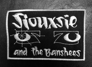 "Siouxsie and the Banshees Eyes 4.5x3"" Embroidered Patch"