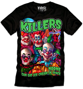 Killer Klowns From Outer Space - Ice Cream T-Shirt