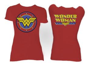 Wonder Woman Logo Blouse T-Shirt
