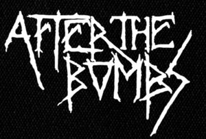 "After the Bombs Logo 6x4"" Printed Patch"