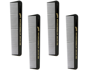 Suavecito Black Comb 4-Pack