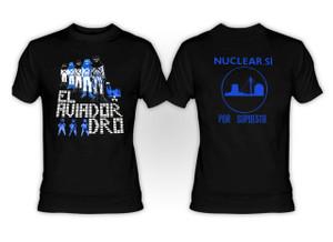 Aviador Dro Nuclear Si T-Shirt