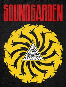 """Soundgarden Badmotorfinger Backpatch 12x15"""""""