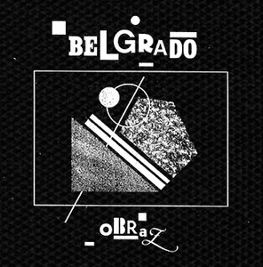 "Belgrado Obraz 4x4"" Printed Patch"