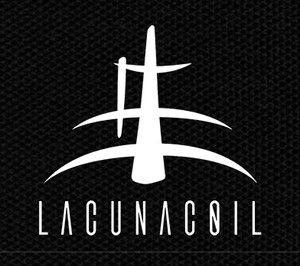 "Lacuna Coil Logo 4x3.5"" Printed Patch"