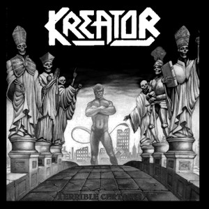 "Kreator - Terrible Certainty 4x4"" Printed Sticker"