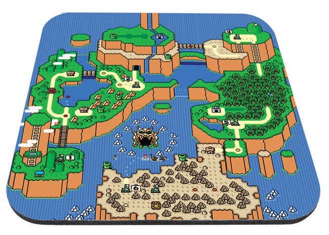 Super Mario World Map 9x7\