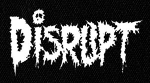 "Disrupt  Logo 6x4"" Printed Patch"