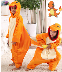 Charmander Kigurumi Kids Size Onesie