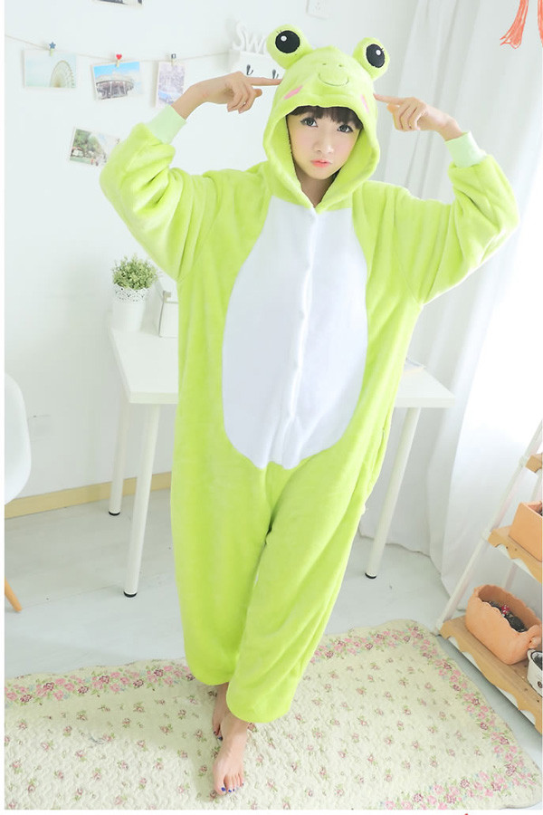 Adult Size Cute Frog Kigurumi Onesie 1c6cceef3c917