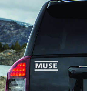 "MUSE - Logo 6x3"" Vinyl Cut Sticker"