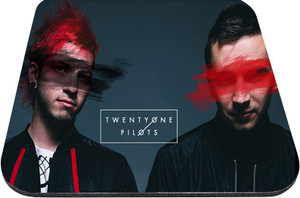 "Twenty One Pilots - Band Members 9x7"" Mousepad"