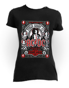 AC/DC - In Concert Girls One Size T-Shirt