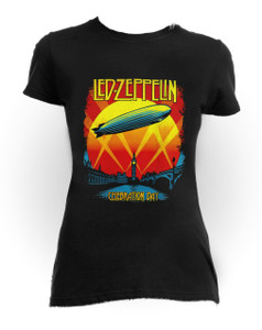 Led Zeppelin - Celebration Day One Size Women's T-Shirt