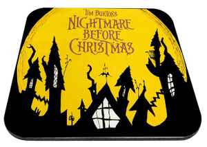 "Nightmare Before Christmas - Rooftops 9x7"" Mousepad"