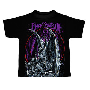 Kid's T-Shirt - Black Sabbath - Gargoyle