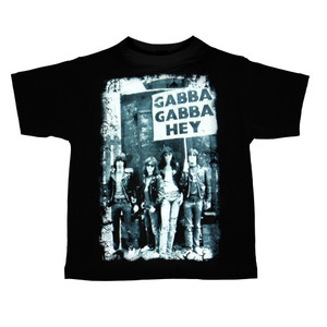 Kid's T-Shirt - The Ramones - Gabba Gabba Hey