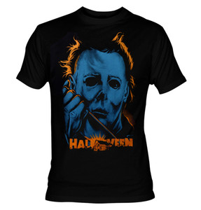 Halloween Michael Myers Color T-Shirt