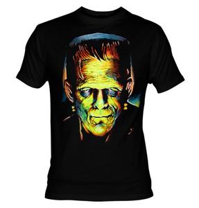 Frankenstein Monster Neon Colors T-shirt