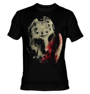 Friday the 13th - Jason with Blood T-shirt