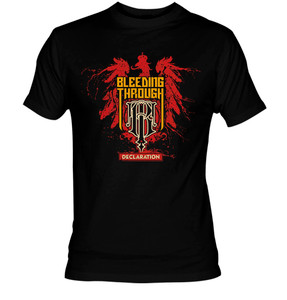 Bleeding Through Declaration T-Shirt
