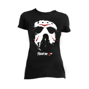 Friday the 13th Jason Hockey Mask Blouse T-Shirt