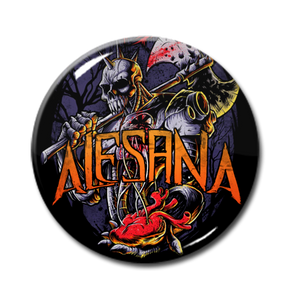 "Alesana - Robot Knight 1"" Pin"