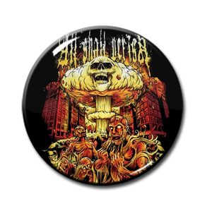 "All Shall Perish - Skull Cloud 1"" Pin"