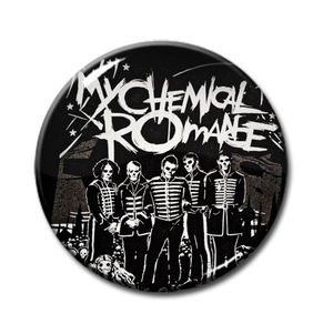 "My Chemical Romance - The Black Parade 1"" Pin"
