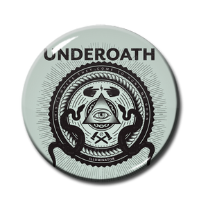 "Underoath - Illuminator 1"" Pin"