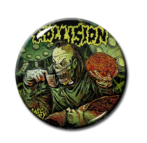 "Collision - Satanic Surgery 1"" Pin"