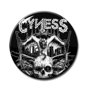 "Cyness - Full Logo 1"" Pin"