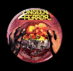 "Unseen Terror - Human Error 1"" Pin"