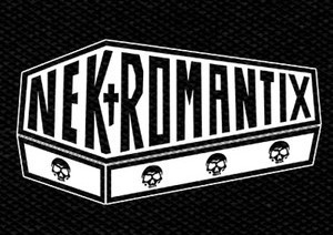 "Nekromantix Logo 6x4"" Printed Patch"