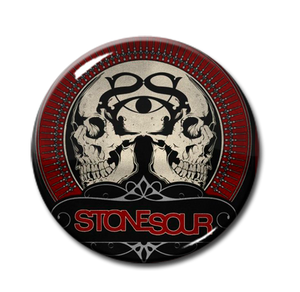 "Stone Sour - Skulls Logo 1"" Pin"