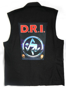 """Go Rocker - D.R.I. Crossover 13.5"""" x 10.5"""" Color Backpatch"""
