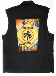 "Go Rocker - D.R.I. Thrash Zone 13.5"" x 10.5"" Color Backpatch"
