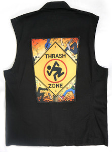 "D.R.I. Thrash Zone 13.5"" x 10.5"" Color Backpatch"