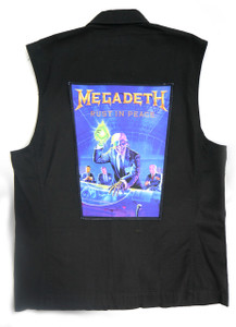 "Megadeth Rust in Peace 13.5"" x 10.25"" Color Backpatch"