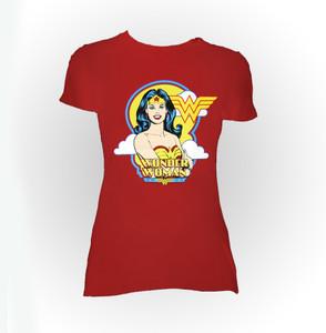 Wonder Woman Illustration Women's T-Shirt