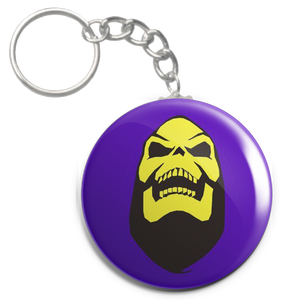 "He-Man and the Masters of the Universe - Skeletor Laughing 1.5"" Keychain"