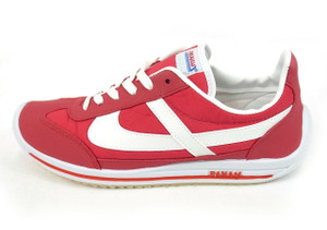 Panam - Red and White Unisex Sneaker