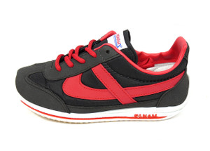 Panam - Black and Red Unisex Sneaker